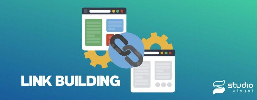 O que é SEO? Linking building.